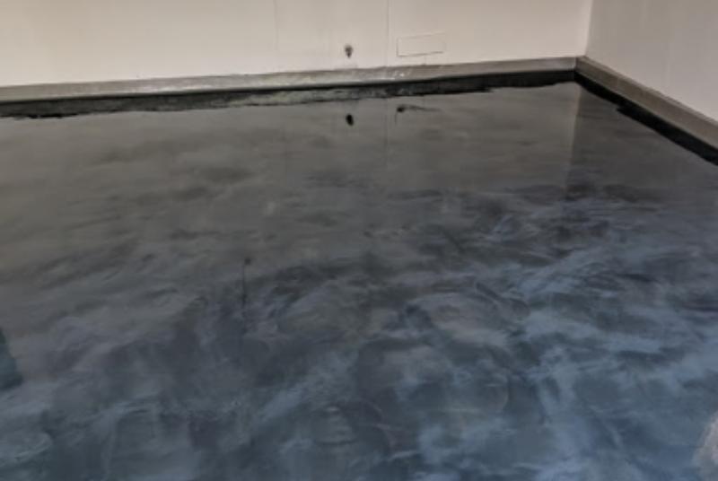 Metal Effects Epoxy Decorative Flooring