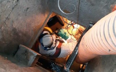 Having a leaky or eroded tank or vessel can be potentially very dangerous!