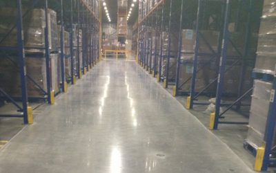 Warehouses/ logistic Operators Love what we can do for them with epoxy floor systems & polished cement systems!